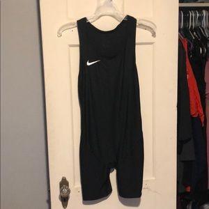 Nike weightlifting singlet